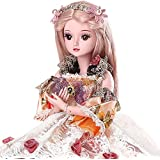 Funnybuy 1/3 BJD Doll SD Doll 19 Joints with All Clothes Outfit Shoes Wig Hair Makeup for Girl Gift and Dolls Collection