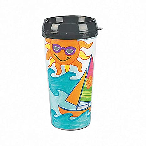 6d63bbcf625 Amazon.com: Design Your Own Travel Mug (6 mugs): Childrens Paper ...