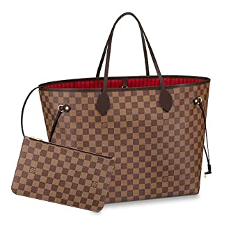 Image Unavailable. Image not available for. Color  LLVV Women s Neverfull GM  Damier Ebene Shoulder Bag c9aa02c2bd882