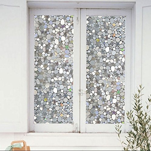 Decorative Glass Film Non Adhesive Window Film 3d Static