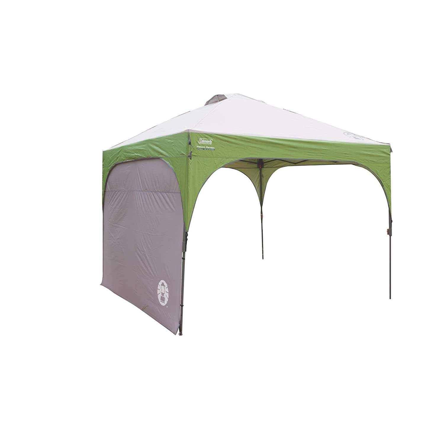 amazoncom coleman instant canopy sunwall accessory only10 foot x 10 foot sports u0026 outdoors