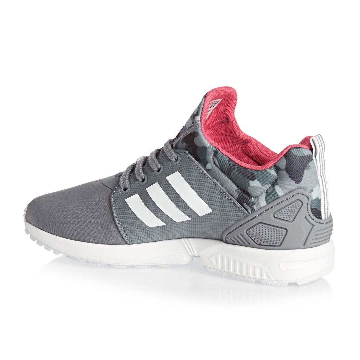 Adidas Zx Flux Flux Flux Nps Updt W, gris / blanco / rosa 937b97