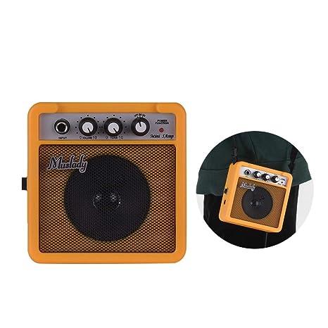 Festnight Muslady 5W Mini Amplificador de Amplificador de Guitarra ...