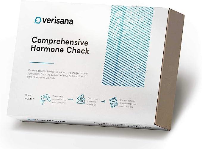Comprehensive Hormone Test for Women, Men & Children – Testing Kit for 9 Hormone Values – Determine Imabalances for Progesterone (Pg), Oestradiol (E2), Testo (T), DHEA & Daily Cortisol (Cx...