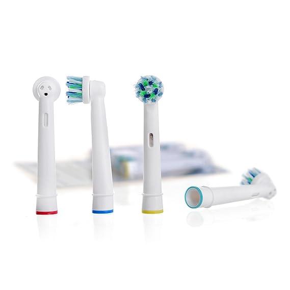 Oral B CrossAction (EB-50A) recambios. Totalmente compatibles con los siguientes modelos de cepillos de dientes eléctricos Oral-B: Vitality Precision Clean, ...