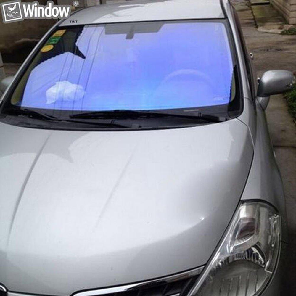 HOHO 152/cmx100/cm camaleonte parabrezza finestra pellicola solare VLT74/% pellicola auto Block parasole per finestrini laterali