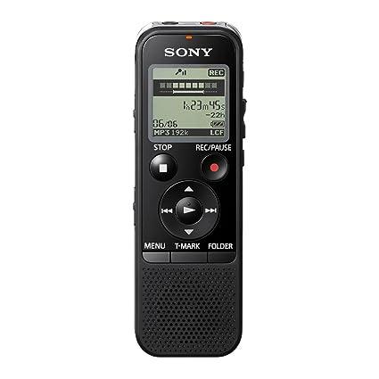 ソニー ICレコーダー4GB内蔵+外部マイクロSDカードスロット搭載(ブラック)SONY ICD-PX440  の商品写真