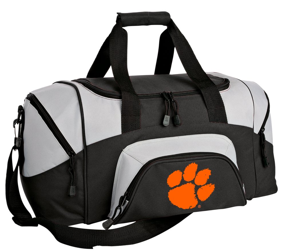 Broad Bay SMALL Clemson Tigers Duffel Bag Clemson University Gym Bags or Suitcase