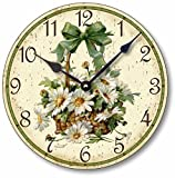 Cheap Item C6030 Vintage Victorian Style 10.5 Inch Daisies Clock