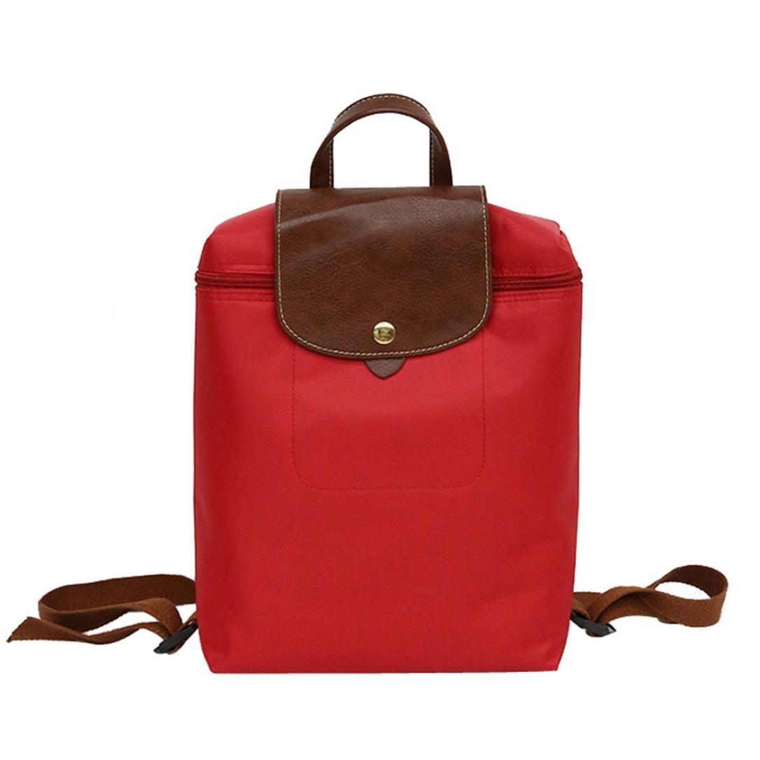 Backpack, Brezeh Unisex Waterproof Nylon School Shoulder Bag Backpack Casual Sports Hiking Rucksack Laptop Bag (Blue) Brezeh Bag