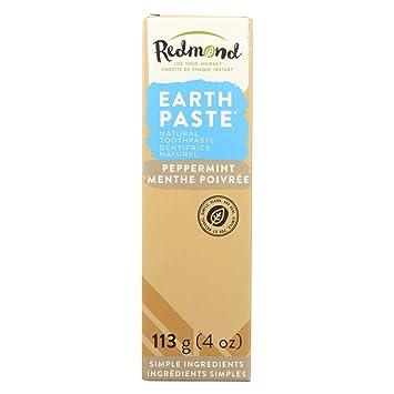 Redmond earthpaste Natural non-flouride pasta de dientes, menta, 4 oz