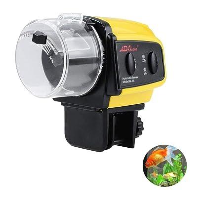 Kuiji Alimentador automático de los Pescados del Acuario, Tanque Auto del dispensador de la Comida