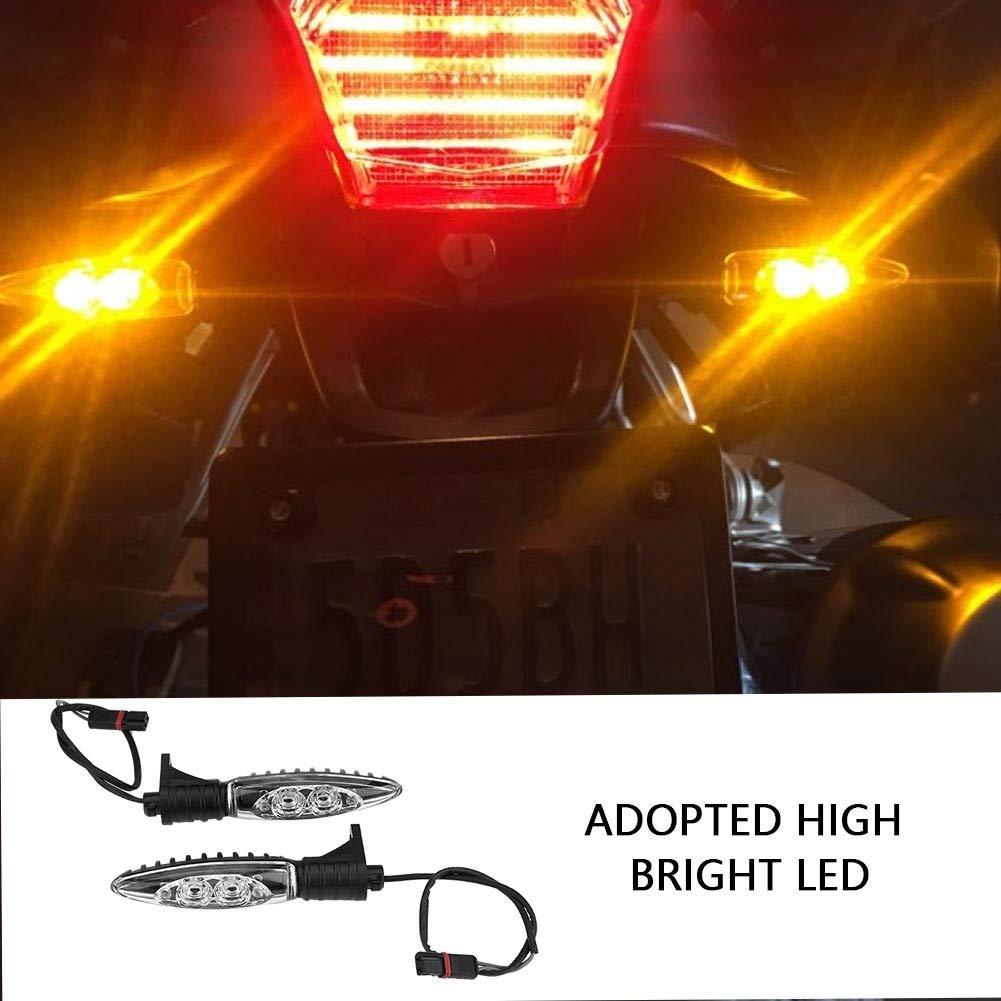 Indicatore di direzione della luce LED del motociclo Indicatore di direzione della luce lampeggiante per BMW R1200GS ADV 2014-2017 Indicatore di direzione della motocicletta LED