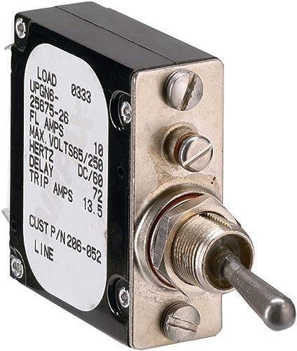 C-H BQC220250 20 50A 2P 120 240V 10KAIC PLUG IN MOLDED CIRCUIT BREAKER