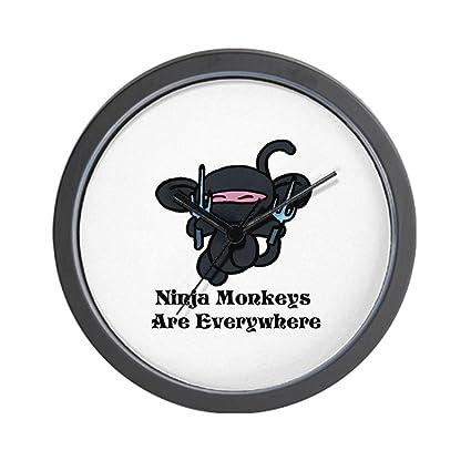 Ninja Mono Sai reloj de pared: Amazon.es: Hogar