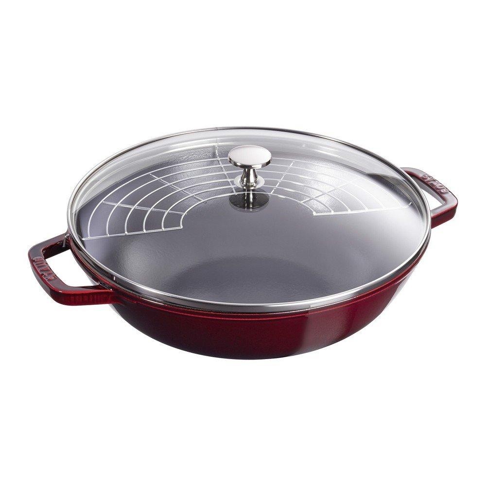 Staub Perfect Pan, Grenadine, 12 by Staub B00IWYWHSE ざくろ色 ざくろ色