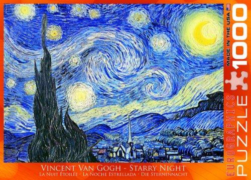 Vincent Van Gogh Starry Night 1000 Piece Puzzle Buy