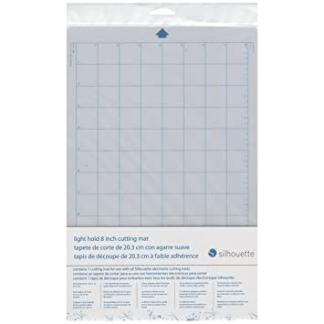 Silhouette 8 7 8 X 14 7 8 Inch Light Hold Cutting Mat For Portrait Transparent