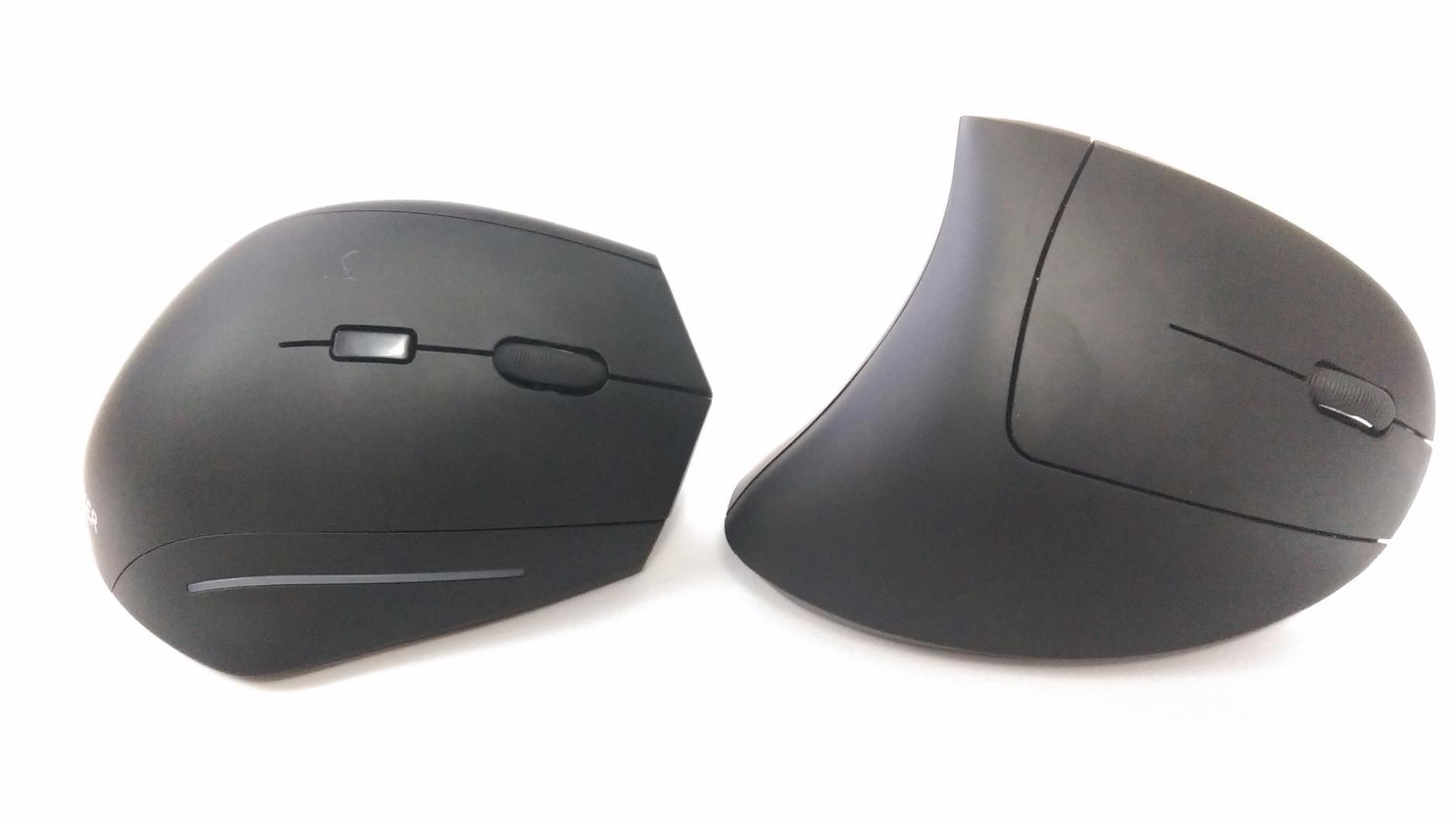 Ergonomic Optical Wireless Vertical Mouse – Solo Gizmo