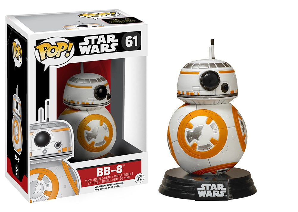 Bobble-Head Figures 3.75-Inch Accessory Toys /& Games Miscellaneous BB-8 FunKo 6218 Pop Star Wars