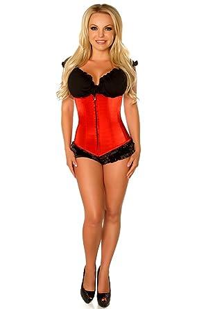 Sexy burlesque lingerie