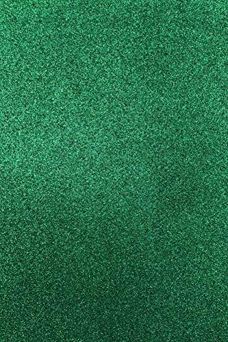 Allgala 12 Pack Glitter EVA Foam Paper 8x12 Inch Sheets-Green-CF85005