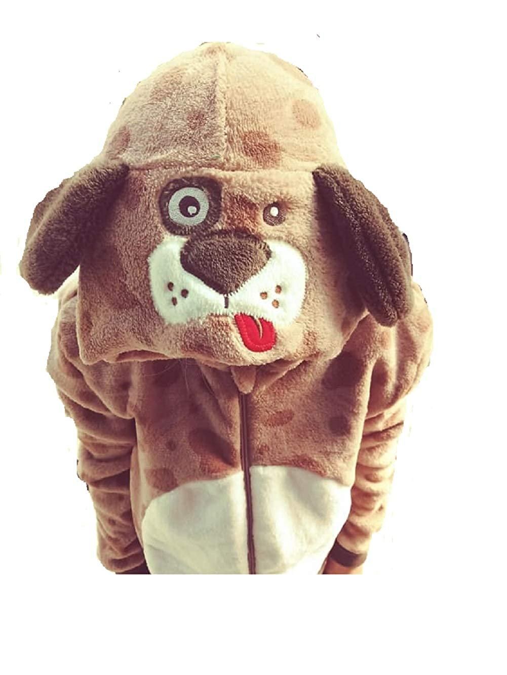 11-12 Years 5-6 9-10 GladRags Girls Kids Puppy//Dog Hooded Onesie with Hood Age 2-3 3-4 7-8