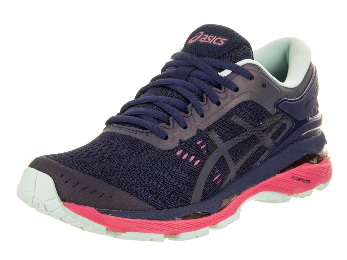 ASICS Women's Gel-Kayano 24 Lite-Show Running Shoe B01MSJ2QG7 6.5 B(M) US|Indigo Blue/Black/Reflective