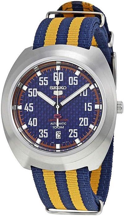 Seiko Reloj los Hombres Seiko 5 Sports Retro Automatic Limited Edition SRPA91K1