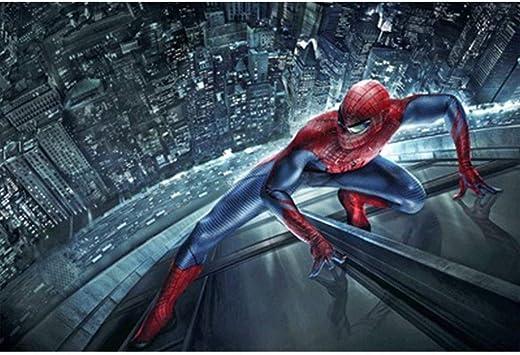 ⏰ Avengers Comics Spider-Man, rompecabezas de madera, Marvel Superhero cartel, tilo Perfect Cut & Fit, 300/1000 Pintura Piezas en caja Fotografía Juguetes Arte del juego for adultos y niños P01/11: Amazon.es: Juguetes