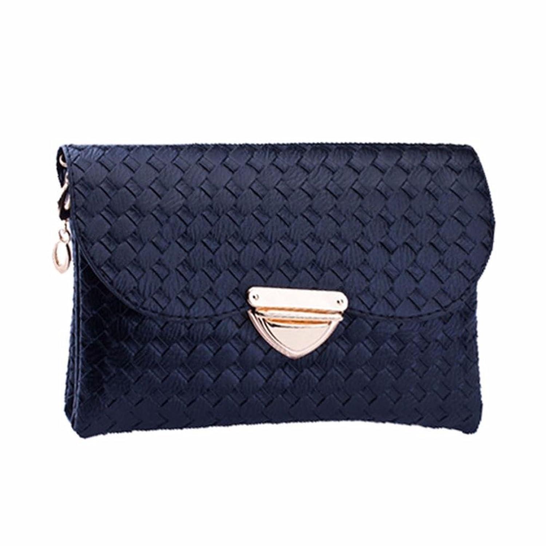 2017 New Wallet ONEMORES(TM) Women Weave Pattern Wallet Shoulder Handbag