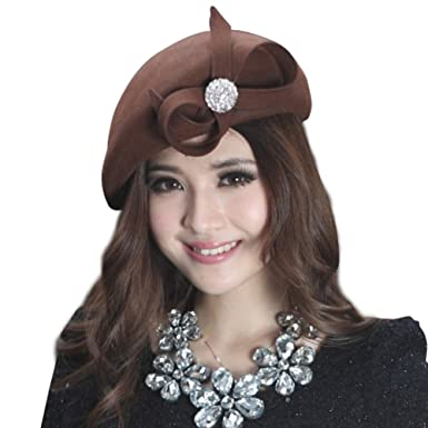 June s Young Women Hats Winter Beret Hats Bow at Amazon Women s ... 6db45b793b96