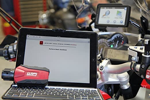 GS-911 Diagnostic Tool for BMW Motorcycles - Wifi Enthusiast Version - Services 10 BMW Motorcycles by Hexcode: Amazon.es: Coche y moto