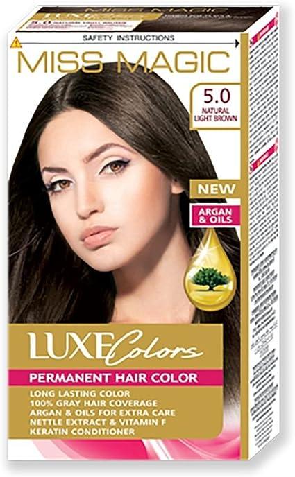 Tinta para pelo Miss Magic Tinte Castaño Claro Hair Colour ...