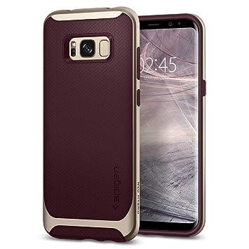 Spigen Funda Galaxy S8, Carcasa [Neo Hybrid] Protección Interna Flexible y Marco Reforzado de Parachoques Duro para Galaxy S8 (2017) - Borgoña