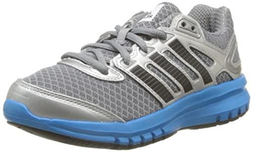 hot sales a1256 200ff Adidas Duramo 6 K D66804 Kids BOY Grey Silver   Blue Sports Shoes. (