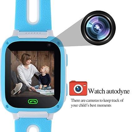 Smartwatch for Kids-TURNMEON Juego Infantil Reloj Inteligente para niñas Niños Niños Regalos de cumpleaños de Navidad con Llamadas SOS Juguetes electrónicos ...
