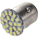 TOOGOO(R) Lampara Luz Trasera Freno para Coche 3020 SMD 22 LED T25 BAY15D 1157 P21/5W Luz Blanca