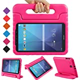 BMOUO Kids Case for Samsung Galaxy Tab E 9.6 - Shockproof Light Weight Protection Convertible Handle Stand Kids Case for Sams