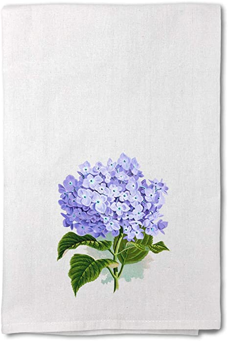 Amazon Com Style In Print Custom Decor Flour Kitchen Towels Hydrangea Vintage Look Botanical Flowers Botanical Flowers Flowers Cleaning Supplies Dish Towels Design Only Home Kitchen