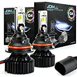 Automotive : JDM ASTAR Newest Version G4 8000 Lumens Extremely Bright AEC Chips 9007 All-in-One LED Headlight Bulbs Conversion Kit, Xenon White