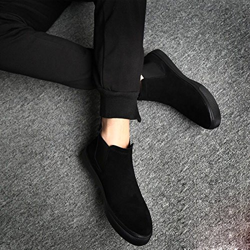 Single cashmere scarpe corrente occasionale in shoes stivali scarpe invernali mens uomini calda l'inverno GTVERNH martin inverno con stivali scamosciate due qPAUCfw