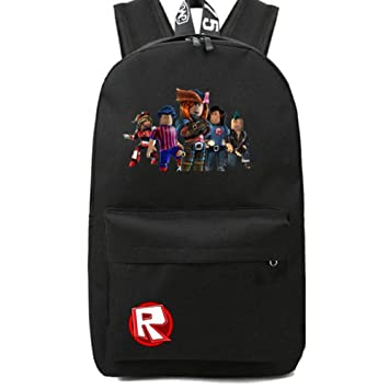 fd3c32f20102 Kids Schoolbag Backpack with Roblox Students Bookbag Handbags Travelbag  (black)