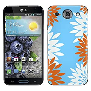 Skin Decal for LG Optimus G PRO - Diamond Flowers