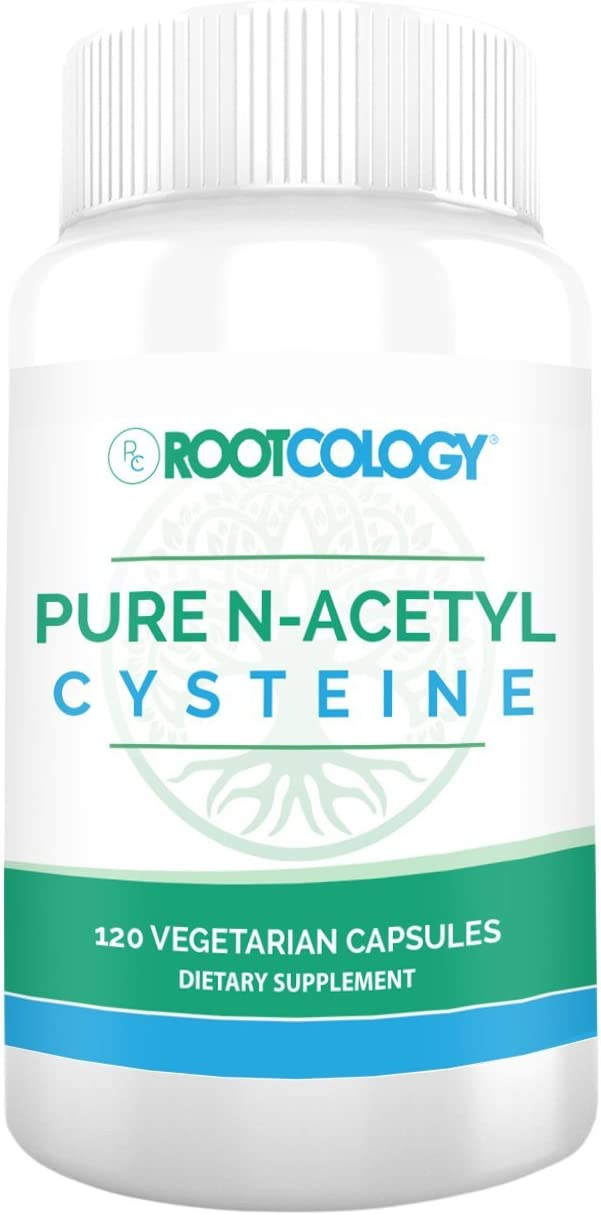 Rootcology Pure N-Acetyl-Cysteine, 120 Capsules, by Izabella Wentz Author of The Hashimoto s Protocol