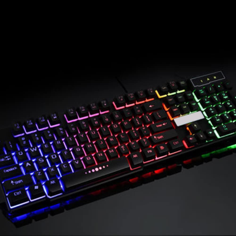 TLfyajJ Coloreado Arco Iris LED retroiluminado retroiluminada ...