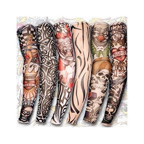 14 opinioni per Manica Tatuaggio In Nylon Con 6 Diverse Fantasie- Costumi [version:x5.6] by