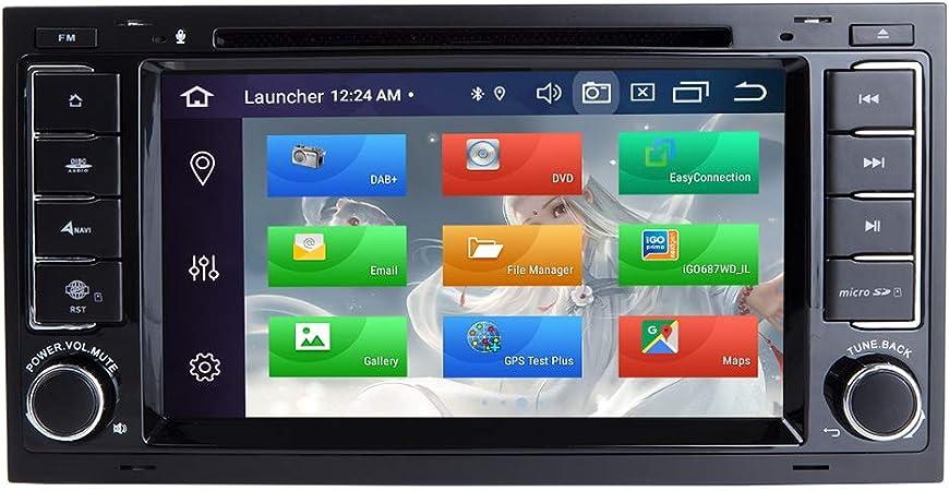 Zltoopai Android 9 0 Octa Core 4g Ram 128g Rom Auto Multimedia Player Für Vw Volkswagen Touareg T5 Transporter Doppel Din Head Unit Auto Stereo Auto Gps Radio Dvd Player Navigation