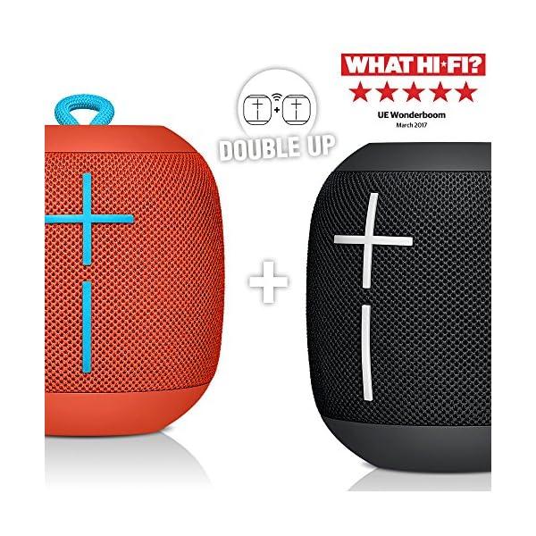 Ultimate Ears WONDERBOOM Altoparlante Bluetooth Portatile, Impermeabile, Suono a 360°, fino a 10 Ore di Autonomia… 4 spesavip