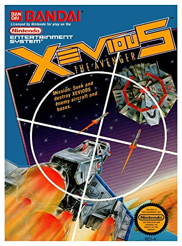 Xevious The Avenger - NES/Nintendo